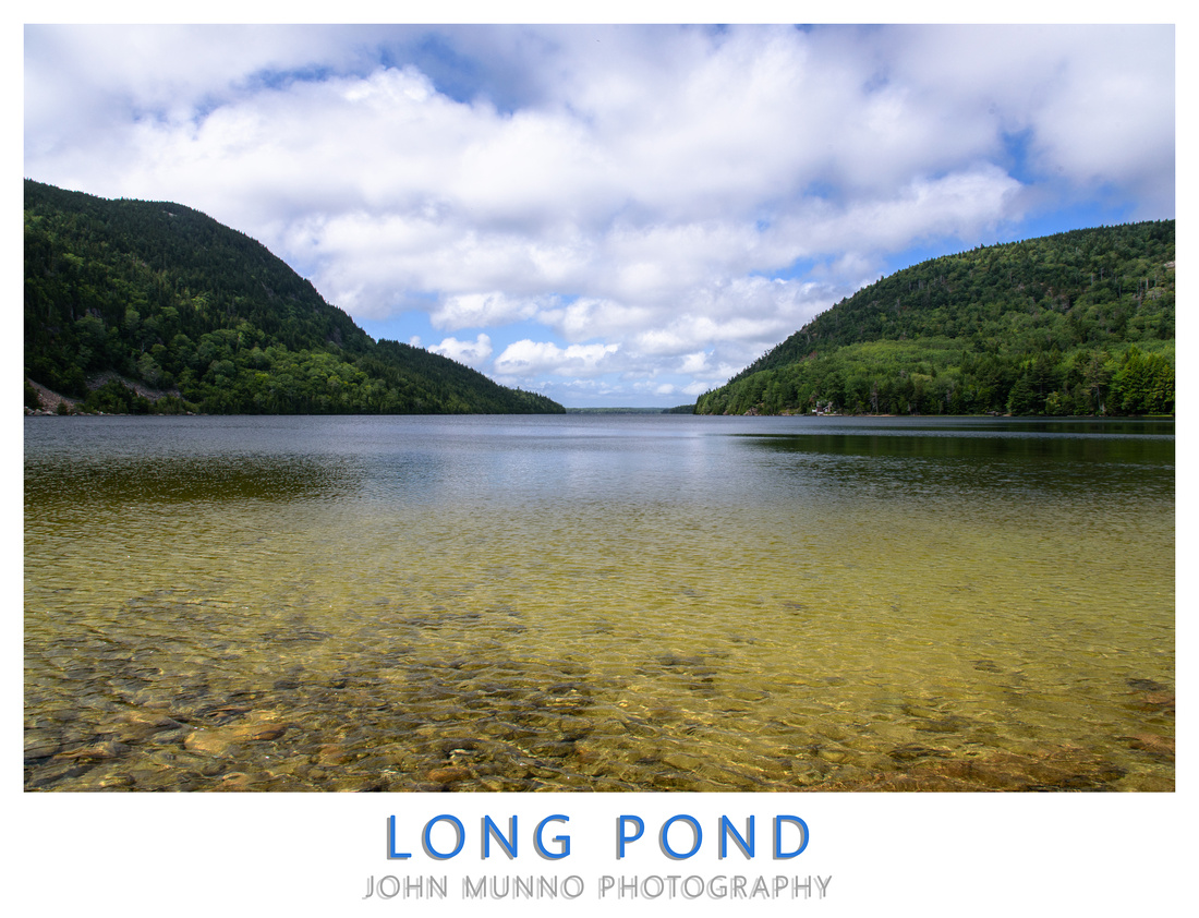 Long Pond Poster