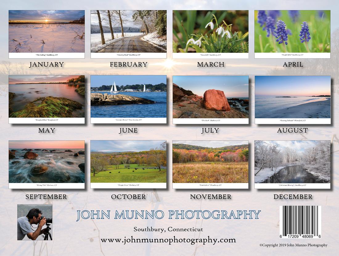 2019 Connecticut Calendar6