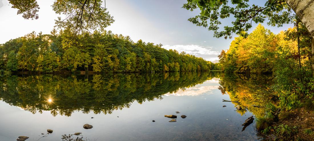 Lake Elise Panorama