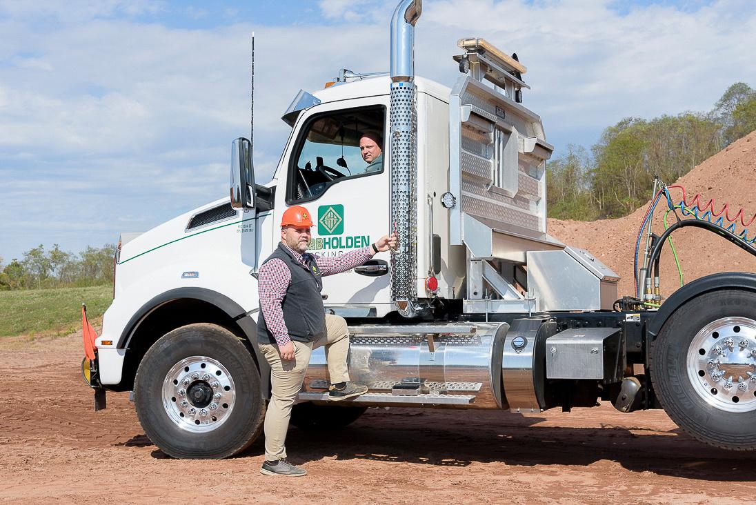 Herb Holden Trucking 154
