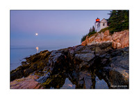 Greeting Card of Bass Harbor Lighthouse, Acadia National Park