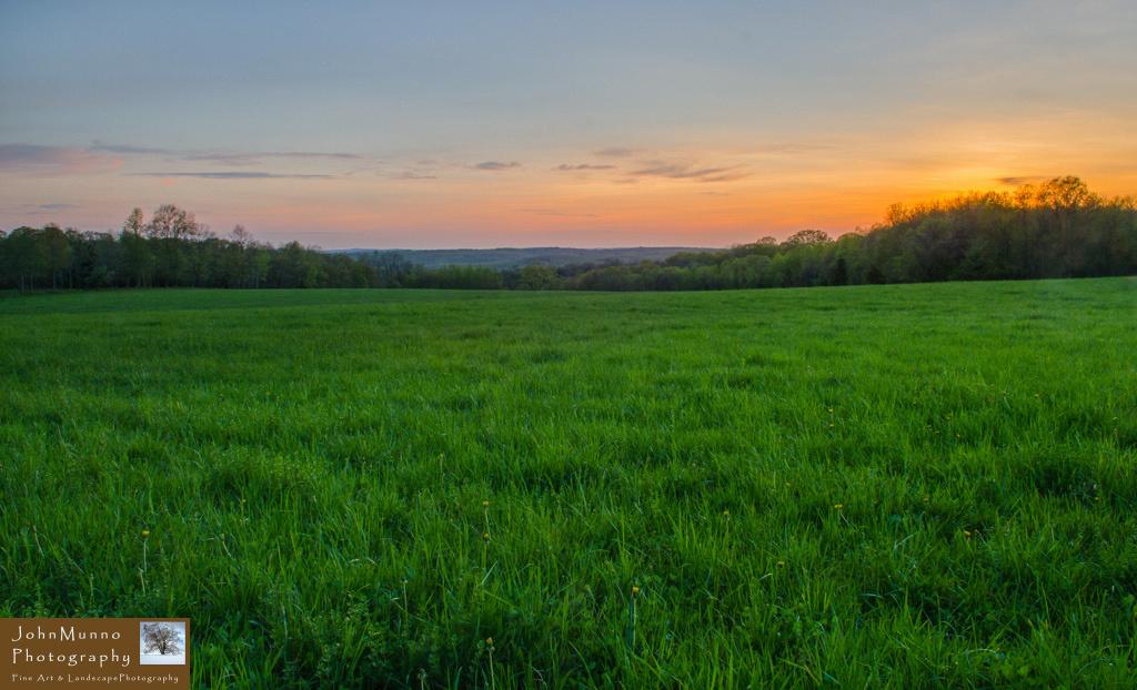 View over Roxbury Connecticut