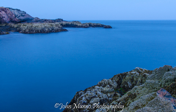 Acadia National Park Lansdcape Photography of dusk over Atlantic Ocean
