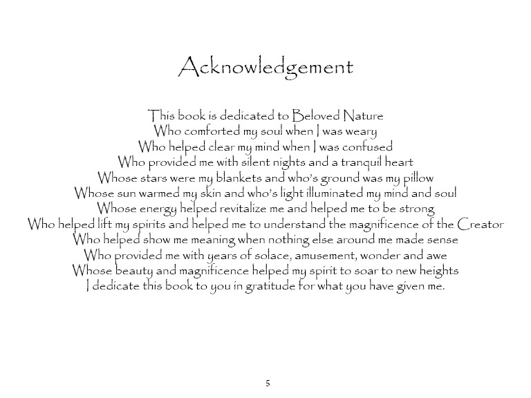 acknowledgments in a thesis paper