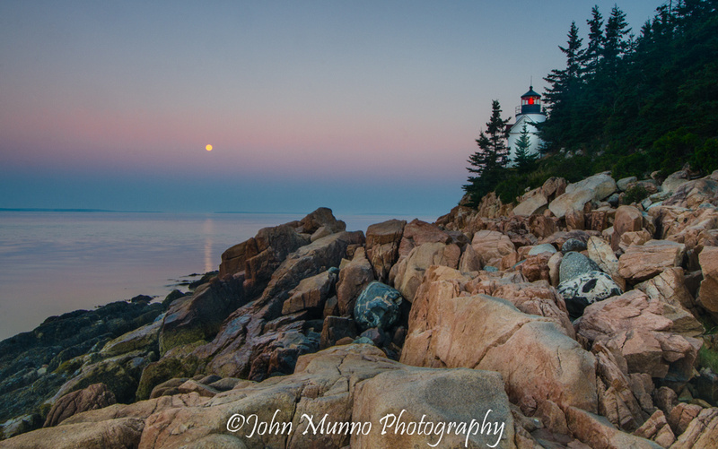 Bass Harbor Lighthouse, Acadia National Park.
