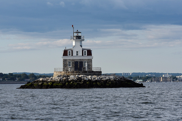 Penfield Lighthouse in Fairfield Connecticut