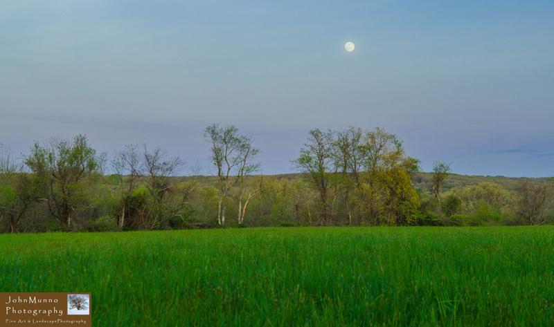 Moonrise over Woodbury