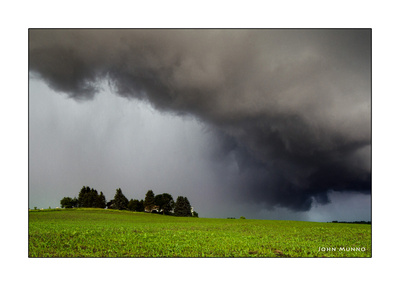 Storm over Bethlehem Connecticut Greeting Card