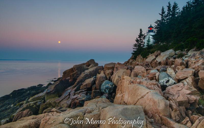 Bass Harbor Lighthouse, Acadia National Park.