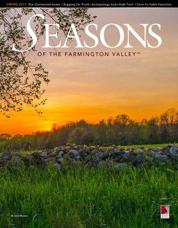 Seasons Magazine Cover Farmington Valley