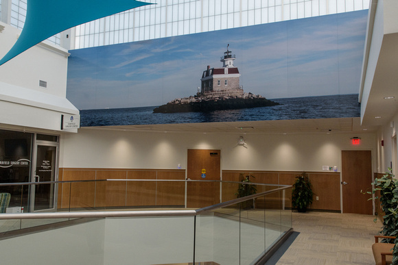 Medical Art Photography and Interior Design photo of the Penfield Lighthouse at Orthopedic Specialty Group in Fairfeld Connecticut