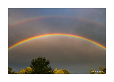 Rainbow over Oxford