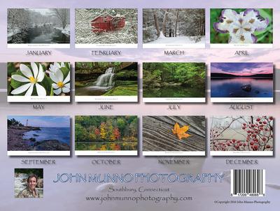 Connecticut Landscape Calendar 2017